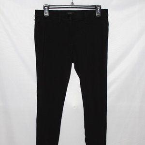 LOFT Black Super Skinny Knit Pants